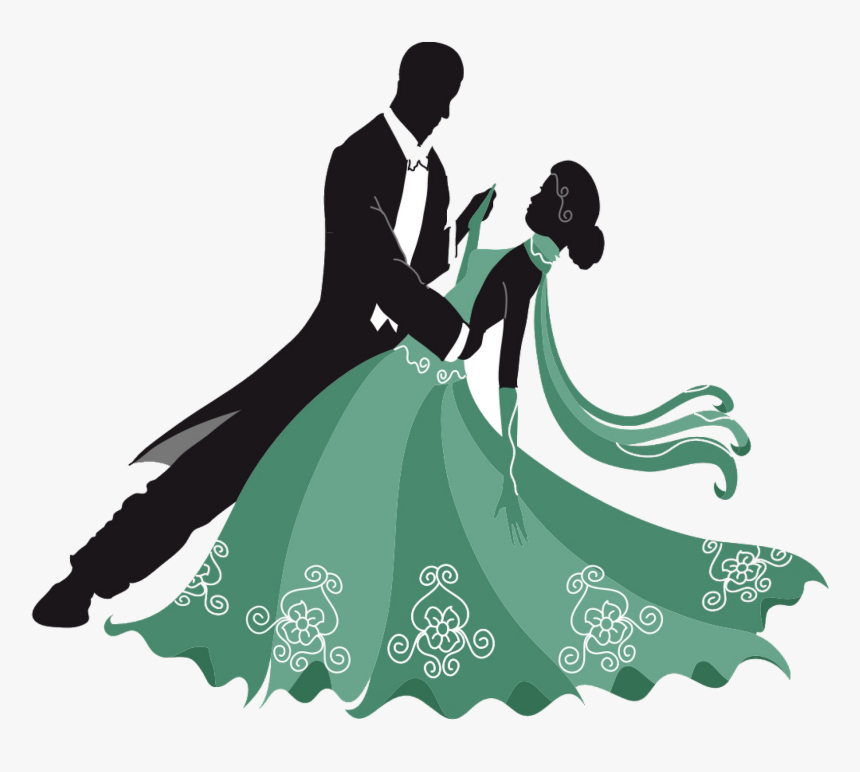 Ballroom Dance Cha Cha Cha Latin Dance Foxtrot Ballroom Dancing Couple Clipart Hd Png Download Kindpng