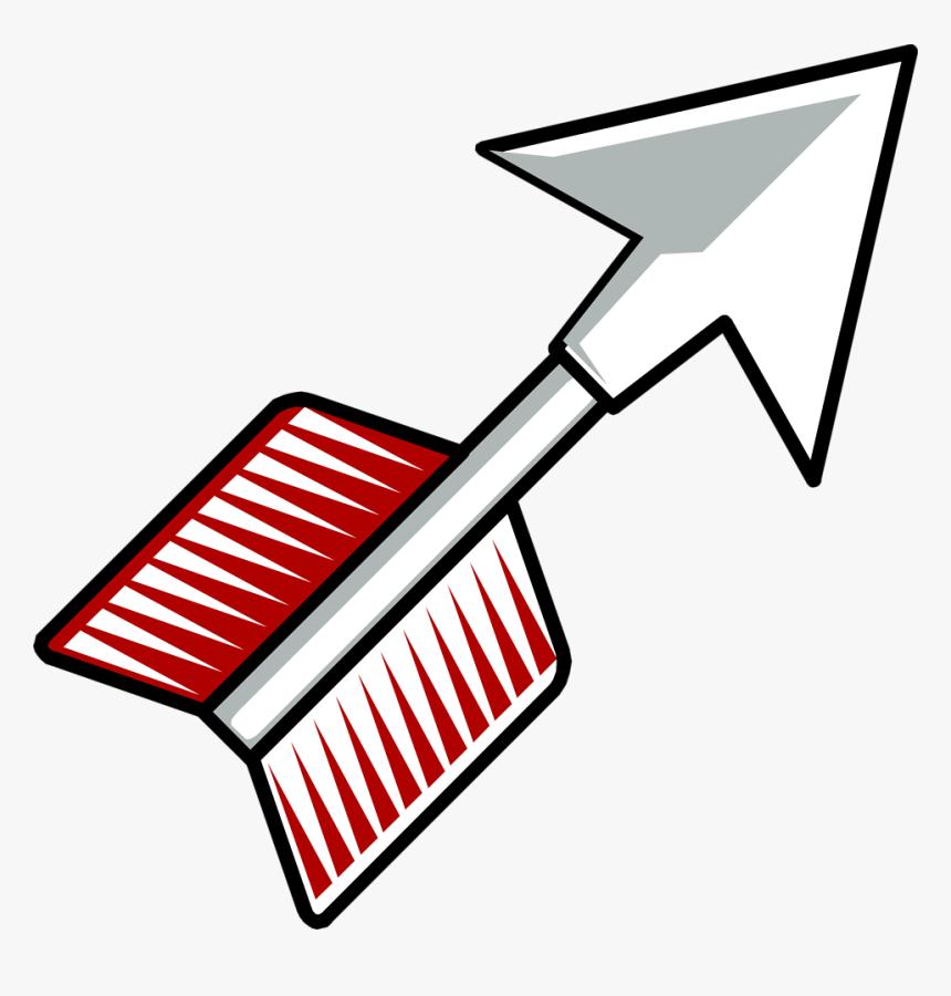 Transparent Arrow Clip Art Png - Cartoon Arrow Bow Clipart, Png Download, Free Download