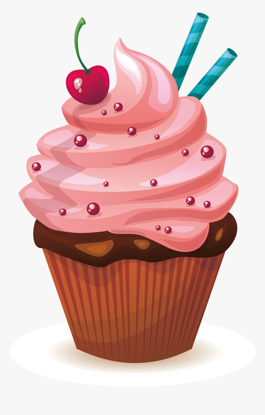 Cool Cupcake Muffin Icing Red Velvet Cake Birthday Cake Cartoon Funny Birthday Cards Online Elaedamsfinfo