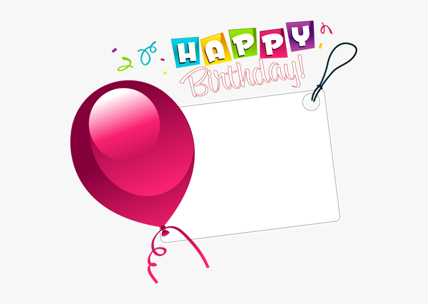 Happy Birthday Balloons Clipart, HD Png Download, Free Download
