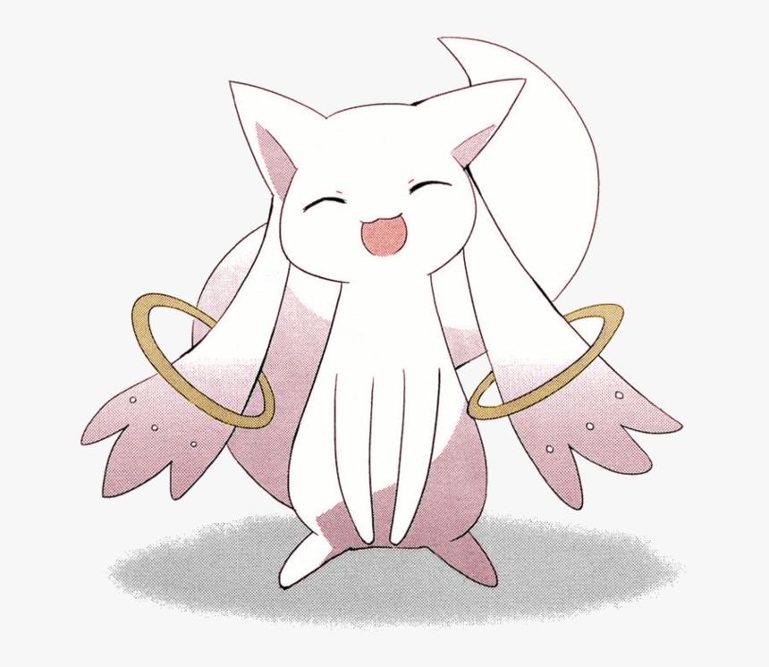 Kyubey Homura Akemi Sayaka Miki Kyōko Sakura Cat White - Kyubey Manga, HD Png Download, Free Download