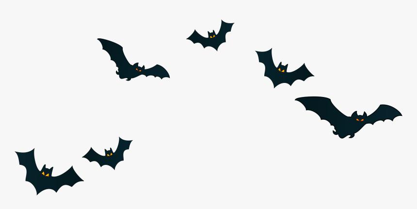 Halloween Bats Decor Png - Transparent Background Bats Clipart, Png Download, Free Download
