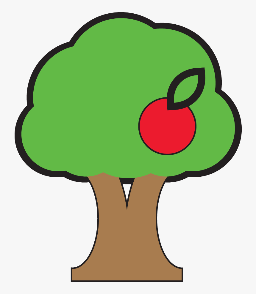 Apple Tree Logo Clipart , Png Download - Transparent Apple Tree, Png Download, Free Download