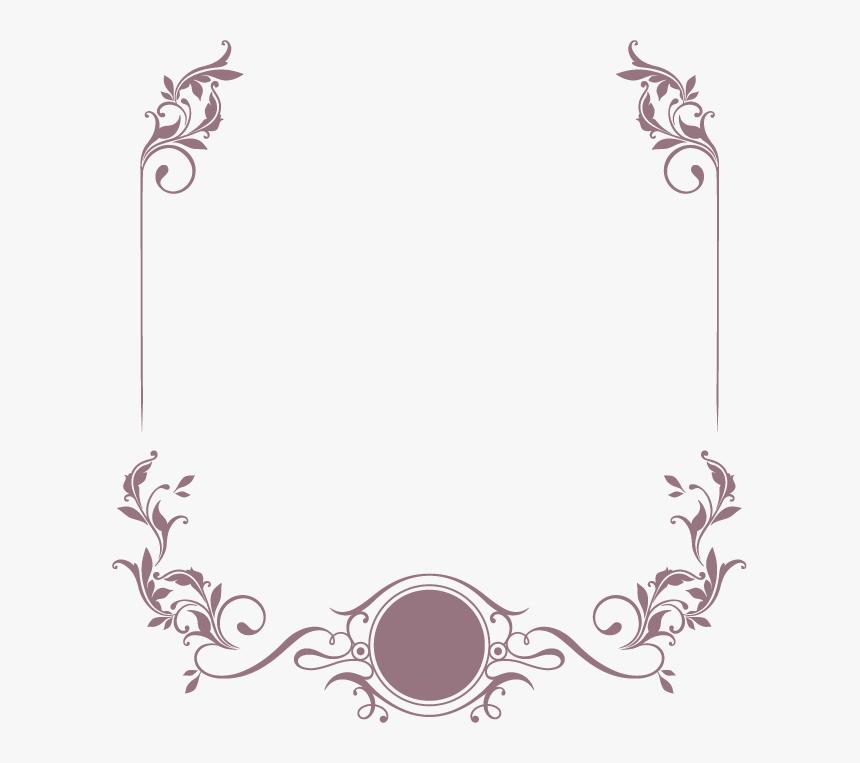 Elegant Wedding Invitation Border Hd Png Download Kindpng