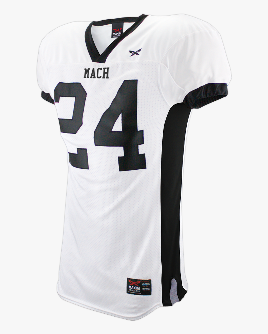 White And Black Football Jersey, HD Png Download, Free Download