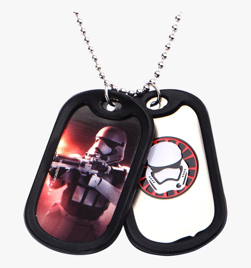Mens First Order Double Dog Tag Necklace - Necklace, HD Png Download, Free Download