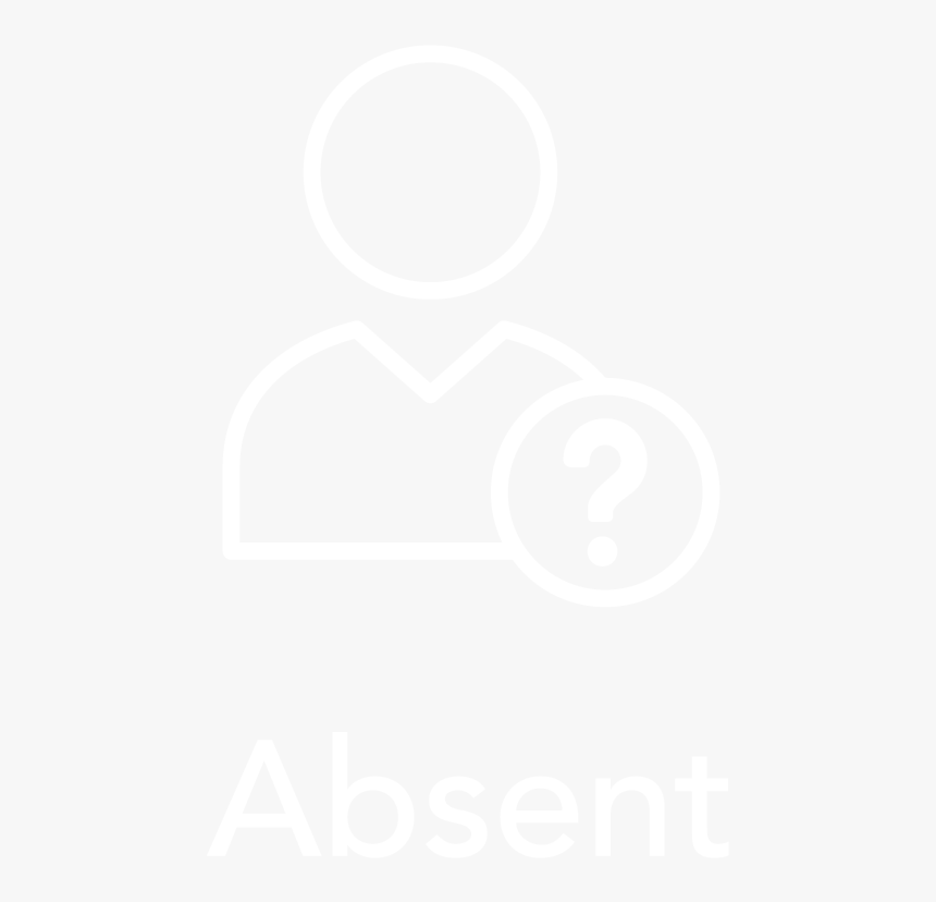Absent - Jhu Logo White, HD Png Download, Free Download