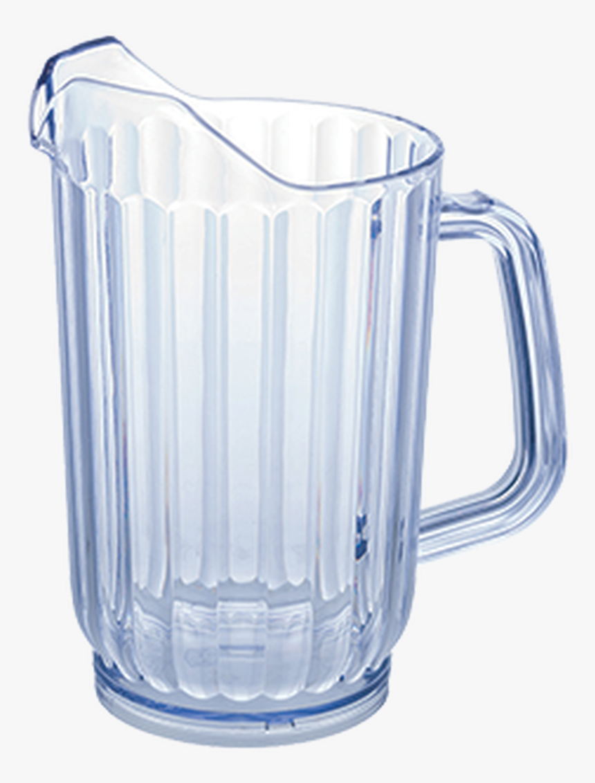 Winco Wps-60 60oz Plastic Water Pitchers, Clear, 4pcs/pk - Plastic Water Pitcher, HD Png Download, Free Download