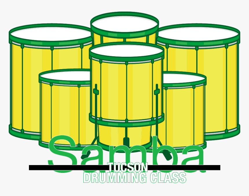 Drum Free On Dumielauxepices Net - Samba Cartoon Drums, HD Png Download, Free Download