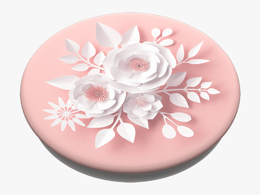 "Popsockets Popgrips Paper Flowers""  Srcset=""data - Pink Flower Popsocket, HD Png Download, Free Download"