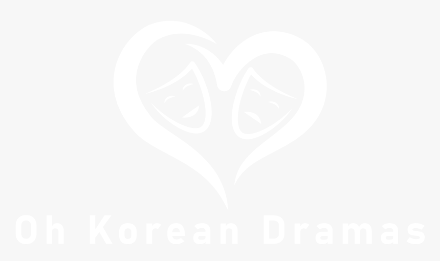 Oh Korean Dramas - Johns Hopkins Logo White, HD Png Download, Free Download