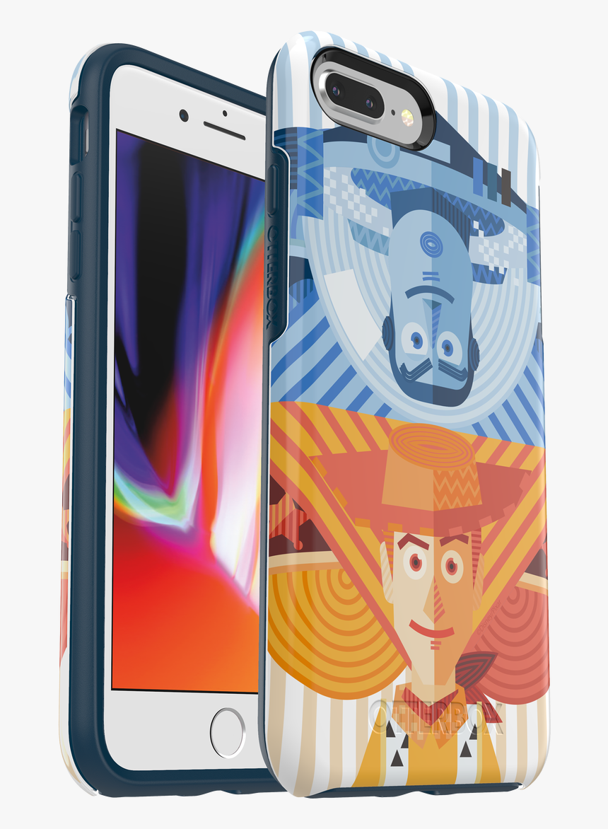 Iphone 8 Plus/7 Plus Otterbox Buzz & Woody Symmetry - Otterbox Iphone 7 Plus Symmetry Series Case, HD Png Download, Free Download