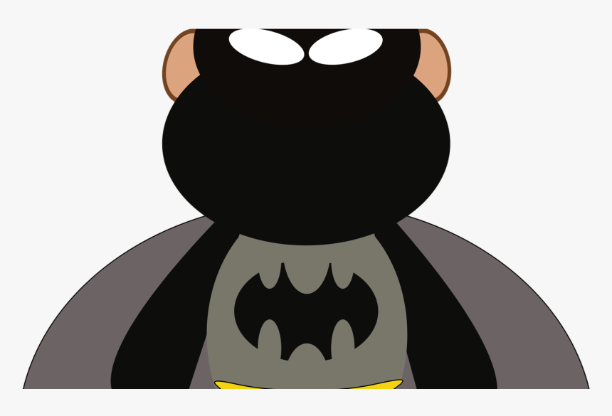 Funny Clipart Batman Pencil And In Color Funny Clipart - Monkey Batman, HD Png Download, Free Download