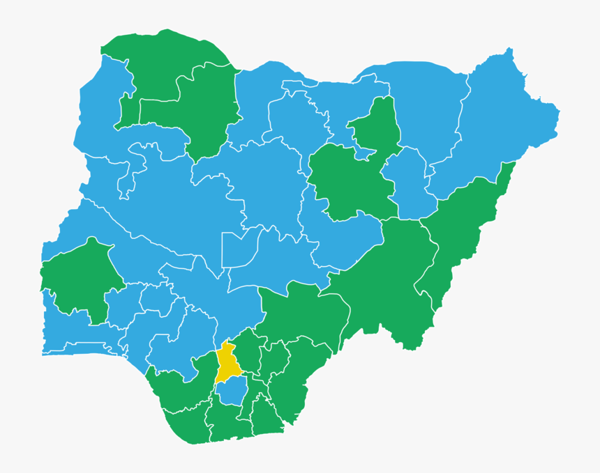 Nigerian State Governors And Political Party Affiliation, HD Png Download, Free Download