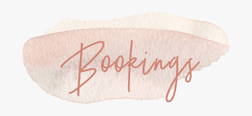 Bookings - Calligraphy, HD Png Download, Free Download