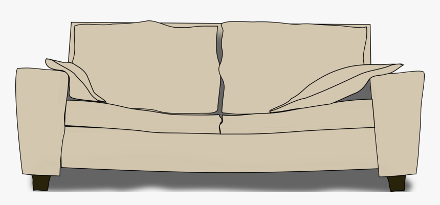 Angle,couch,table - Couch Clip Art, HD Png Download, Free Download