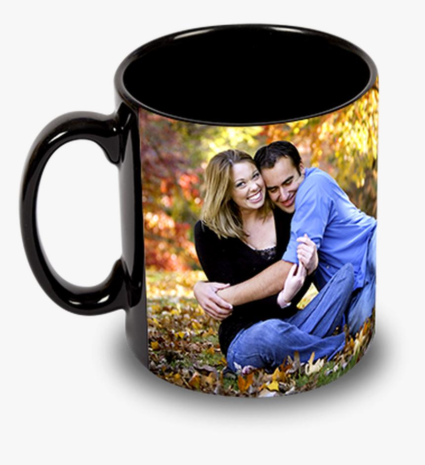 Custom Personalized 15oz Black Ceramic Mug W/ Your - Coffee Mug Printing Png, Transparent Png, Free Download