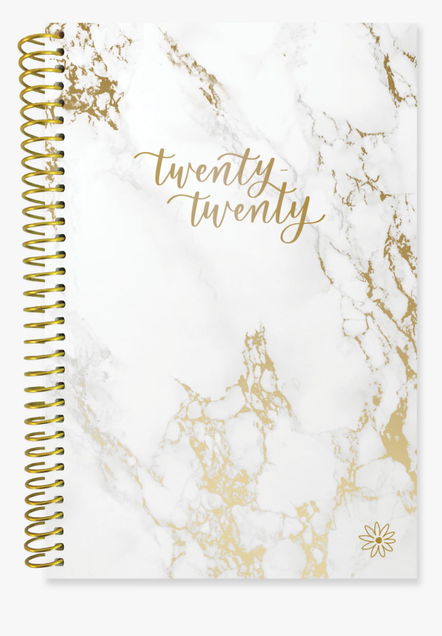 2020 Soft Cover Daily Planner & Calendar, Marble-imperfect - Planner Cover 2019 2020, HD Png Download, Free Download