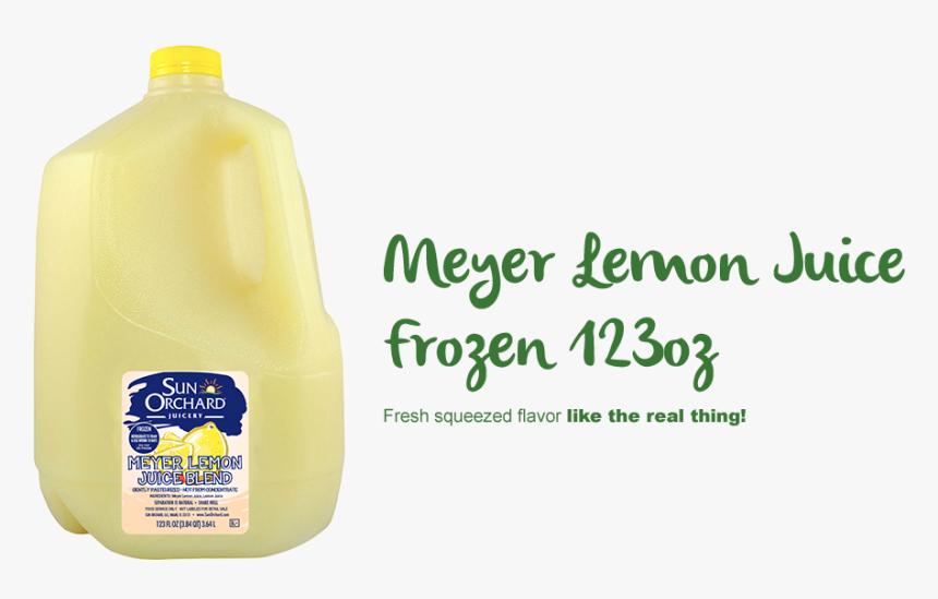 Meyer Lemon Juice - Plastic Bottle, HD Png Download, Free Download