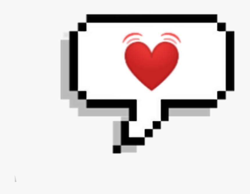 #corazon #corazones #heart #rojo #buble #mensaje #white - Kpop Pixel, HD Png Download, Free Download