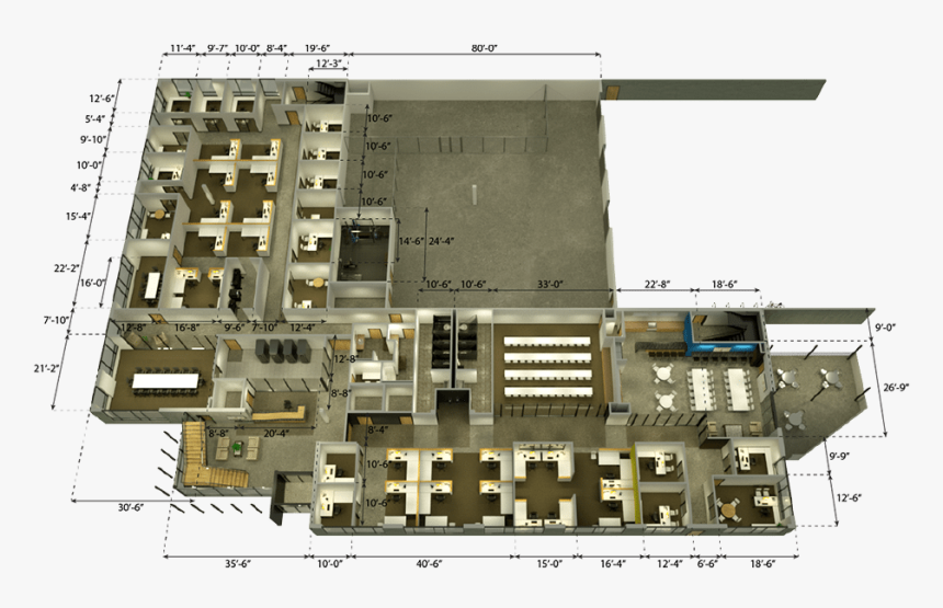 Commercial Building Floor Plans Png