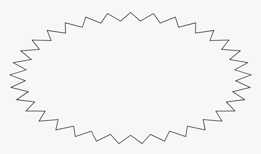 Burst Clipart Blank - Blank Star, HD Png Download, Free Download