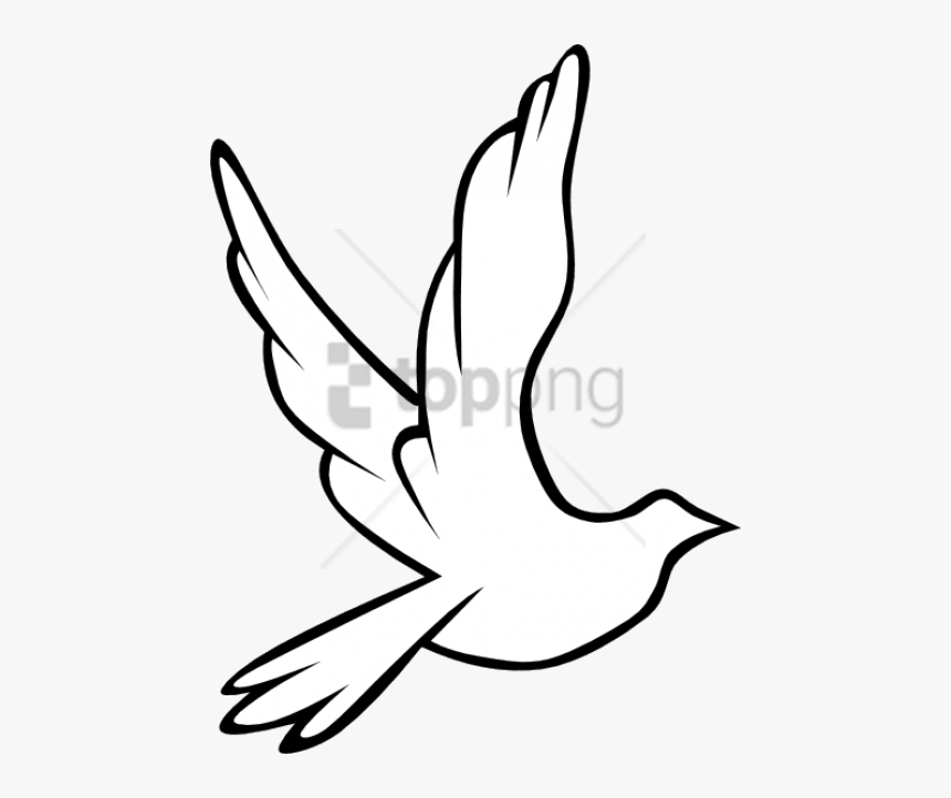 Free Png Download Black And White Flying Birds Png Bird Flying Drawing Easy Transparent Png Kindpng