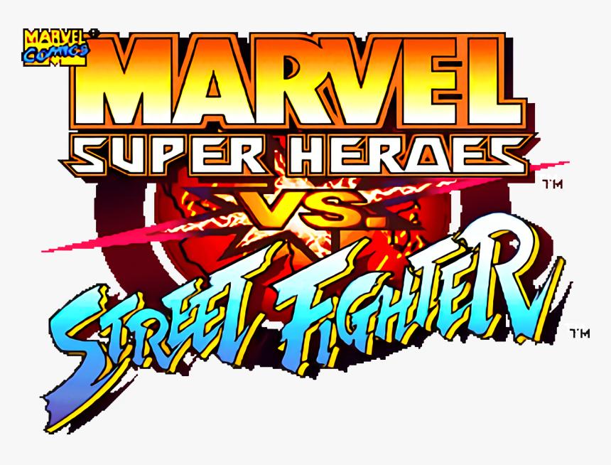 Xmen Vs Street Fighter Logo Hd Png Download Kindpng