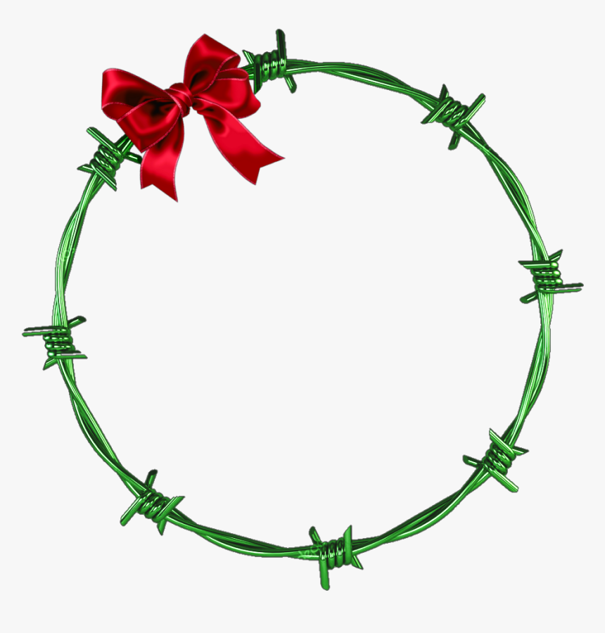 Circle Of Barbed Wire, HD Png Download, Free Download