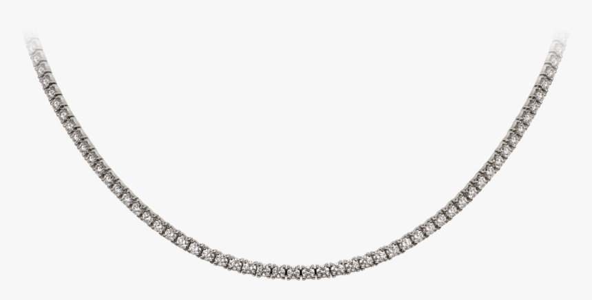 Transparent Silver Lines Png - Chain Necklace, Png Download, Free Download