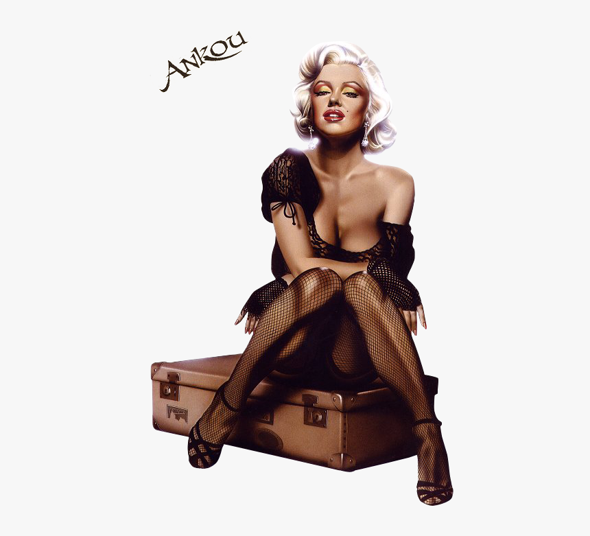 Best Free Marilyn Monroe Transparent Png File - Marilyn Monroe Pin Up Art, Png Download, Free Download