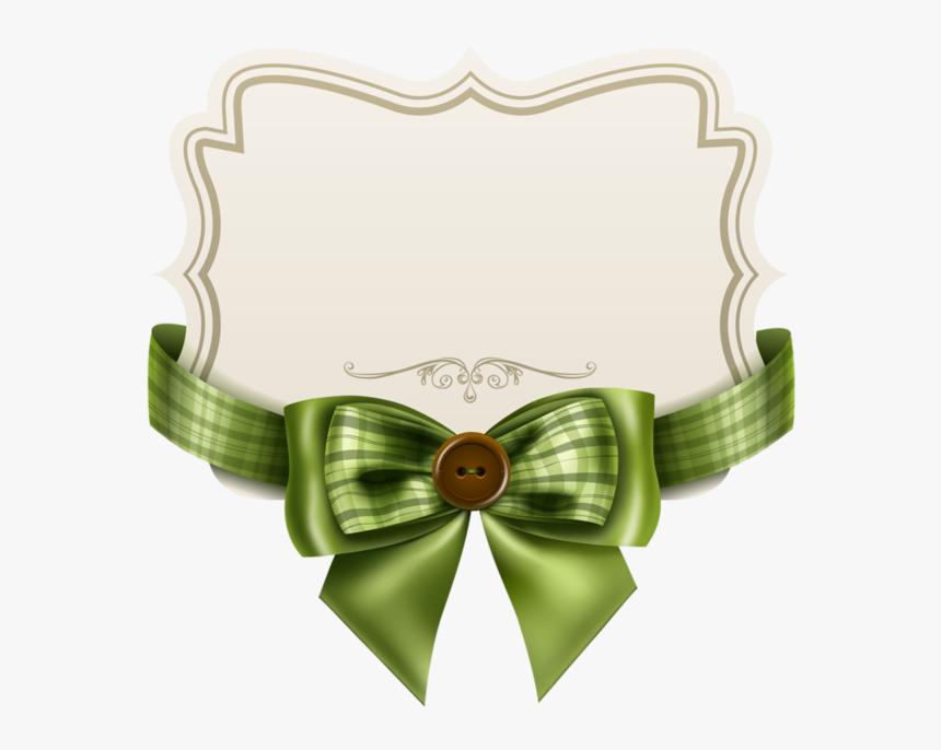 Green Ribbon Banner Png -green Ribbon, Ribbon Bows, - Ribbon Bow Free Vector Art, Transparent Png, Free Download