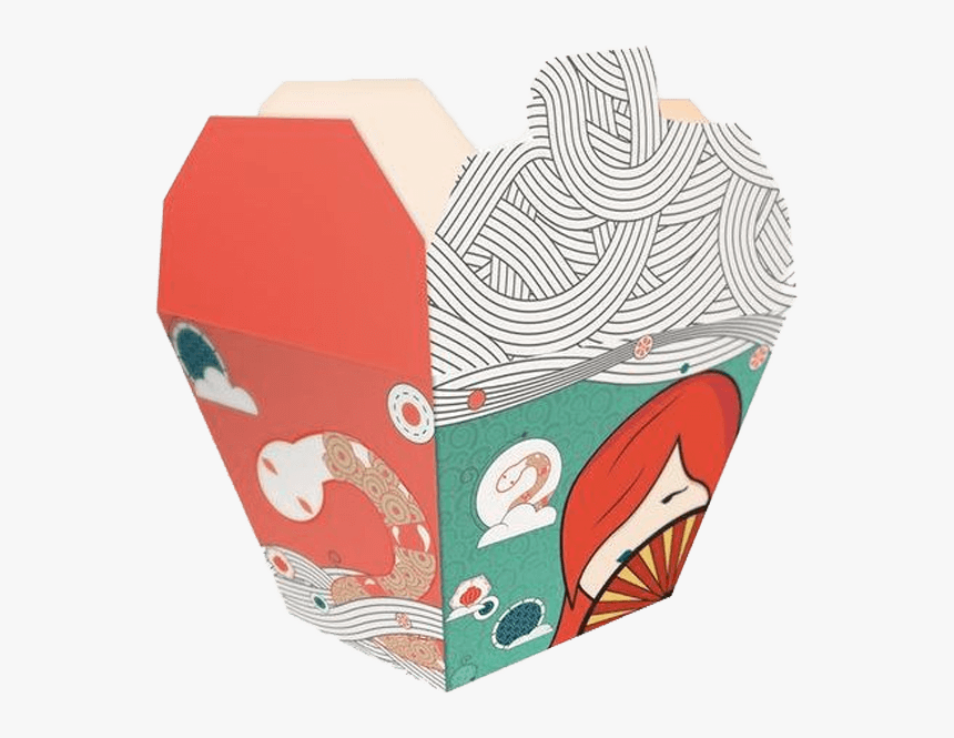 Chinese Takeout Box Design, HD Png Download, Free Download