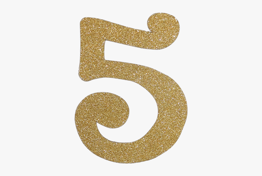 Transparent Gold Number 5, HD Png Download, Free Download