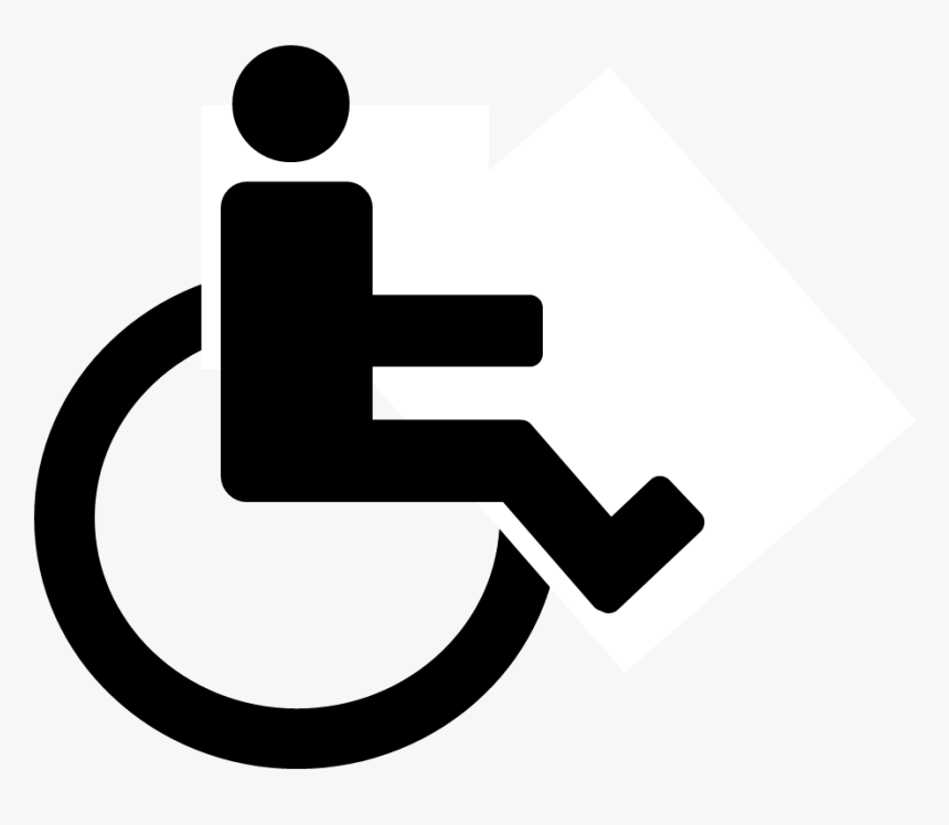 Collection Of Free Disabilities - Noun Project Wheelchair, HD Png Download, Free Download