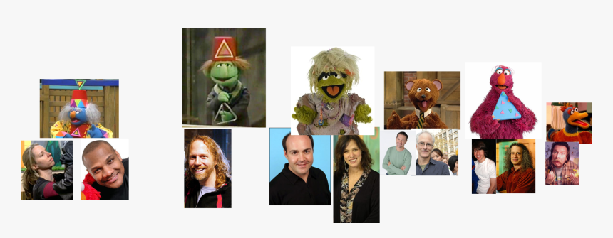 Muppet Wiki Behind The Scenes Sesame Street Episode - Collage, HD Png Download, Free Download