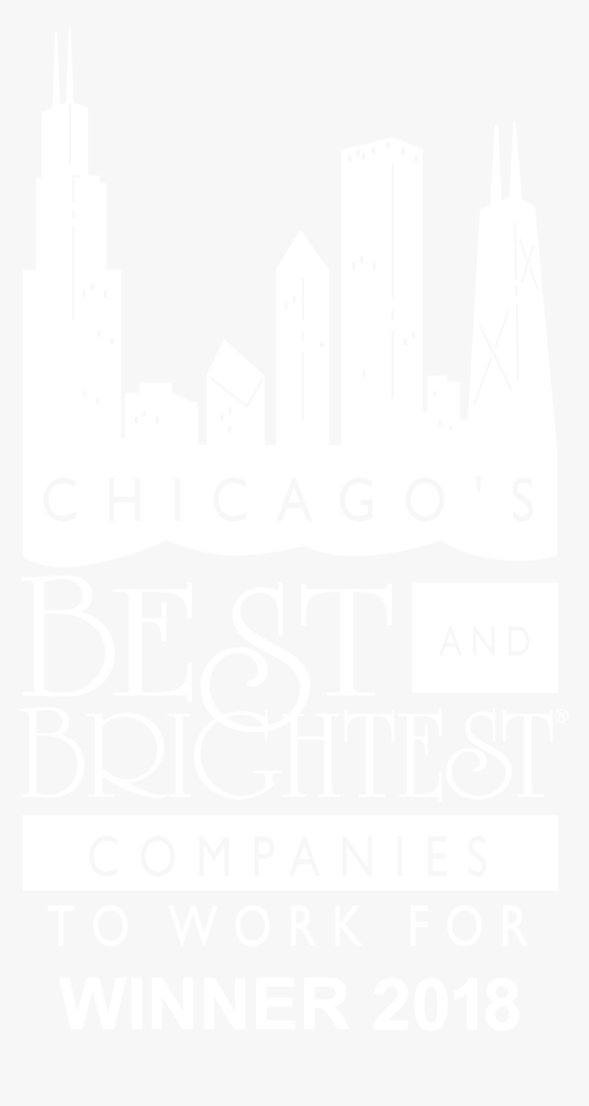 Logo - Chicago's Best And Brightest Companies To Work, HD Png Download, Free Download