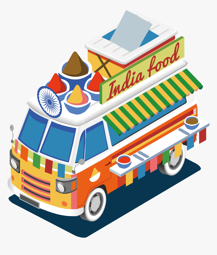 Street Food Barbecue Indian Cuisine Food Truck - Ideas Is Food Truck A Good Business, HD Png Download, Free Download