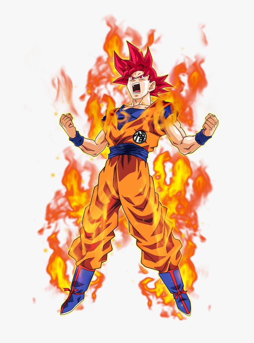 Dragon Ball Super Goku Ssj God, HD Png Download, Free Download