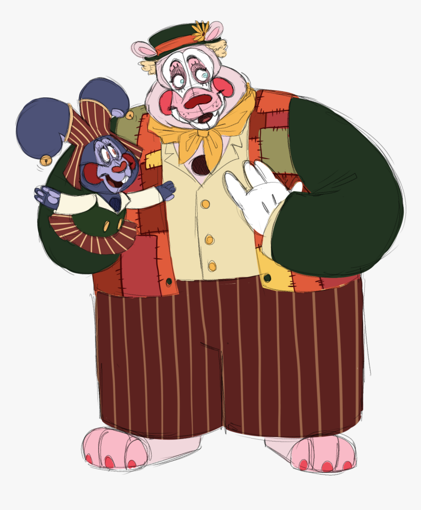 I Just Drew This Like A Few Seconds Ago But I Love - Frootrollup1 Ballora, HD Png Download, Free Download