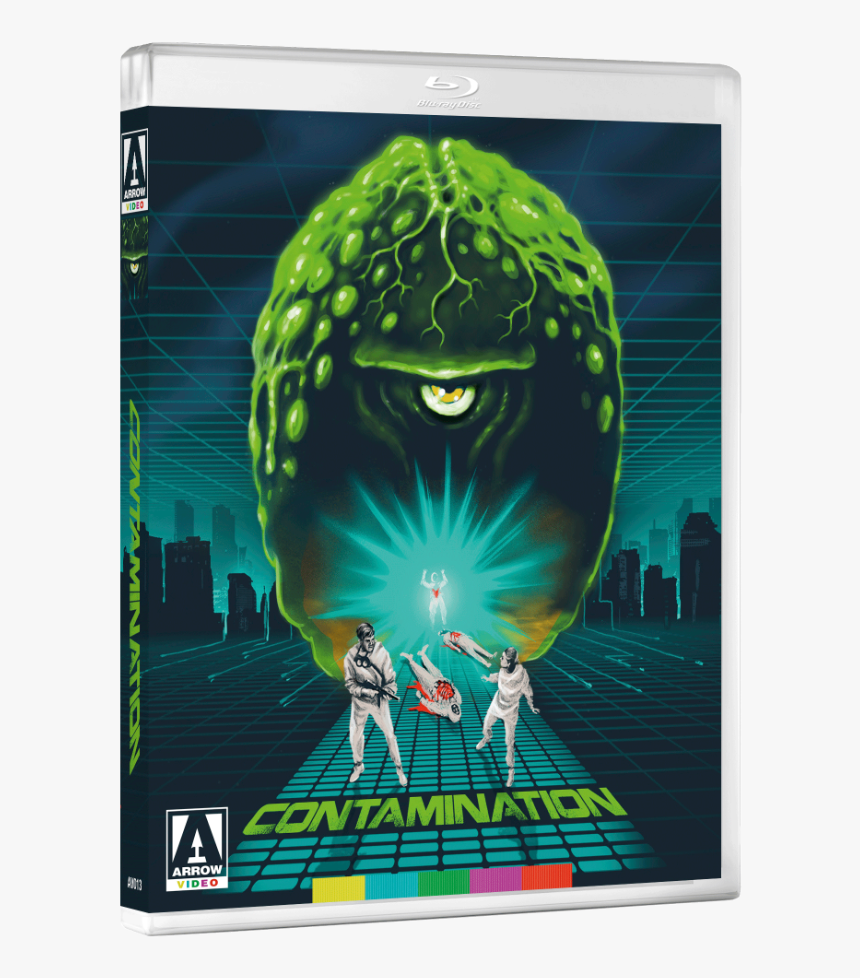Contamination Arrow Blu Ray, HD Png Download, Free Download