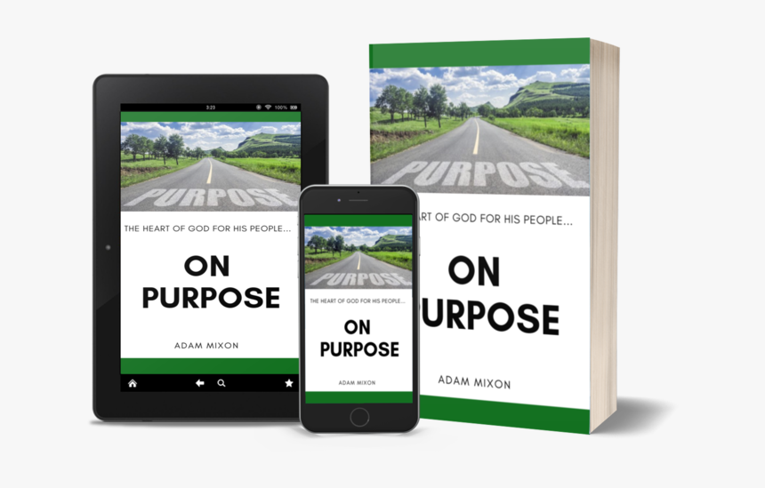 Book And Kindle Mock Up - Iphone, HD Png Download, Free Download