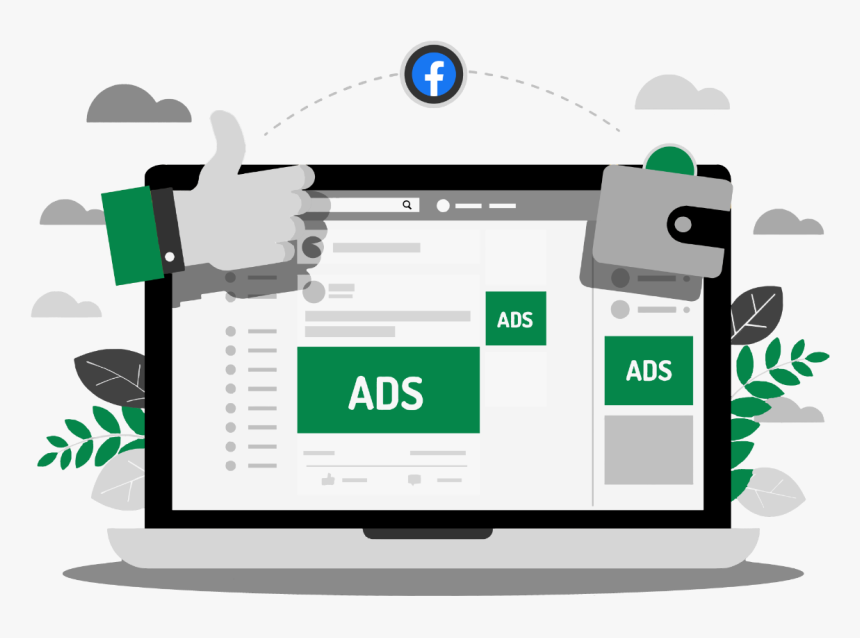 Facebook Ads, HD Png Download, Free Download
