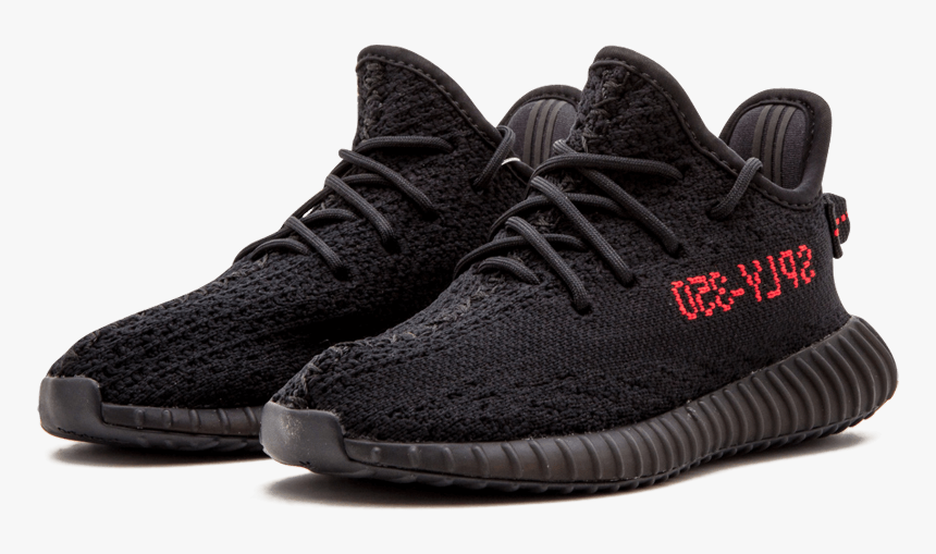 Gallo Pato frutas  Yeezy Boost Png - Adidas Yeezy Boost 350 V2 Black Red, Transparent Png -  kindpng