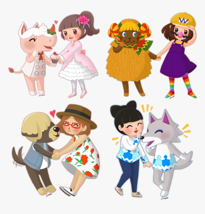 Animal Crossing New Leaf Merengue Qr Codes - Cute Animal Crossing New Leaf, HD Png Download, Free Download