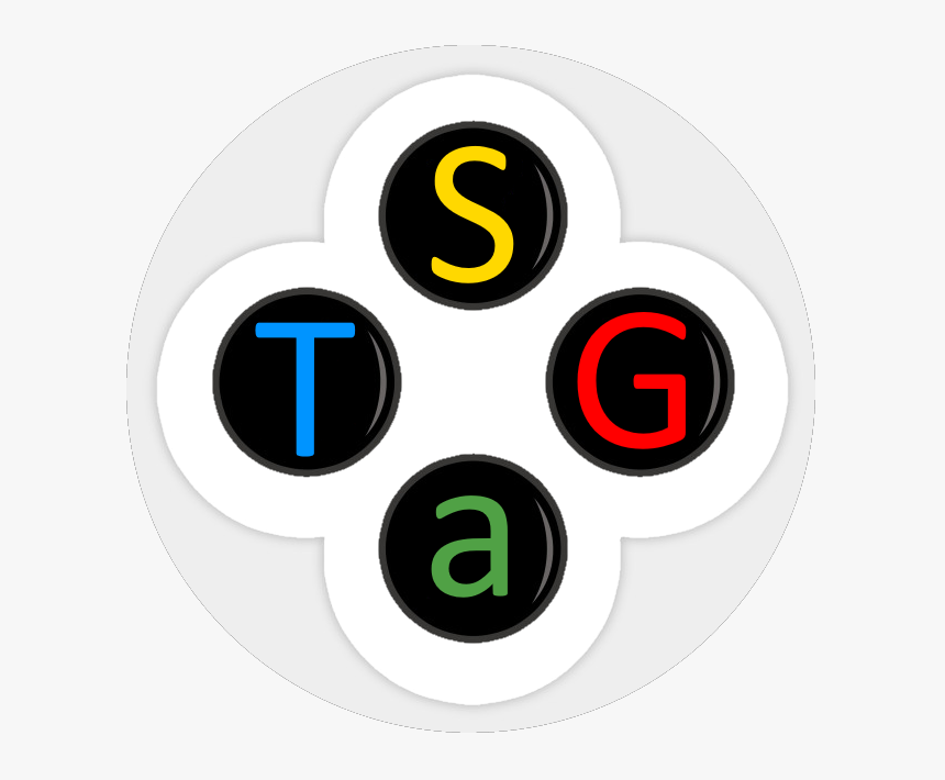 Stag Magazine - Game Controller Button Stickers, HD Png Download, Free Download