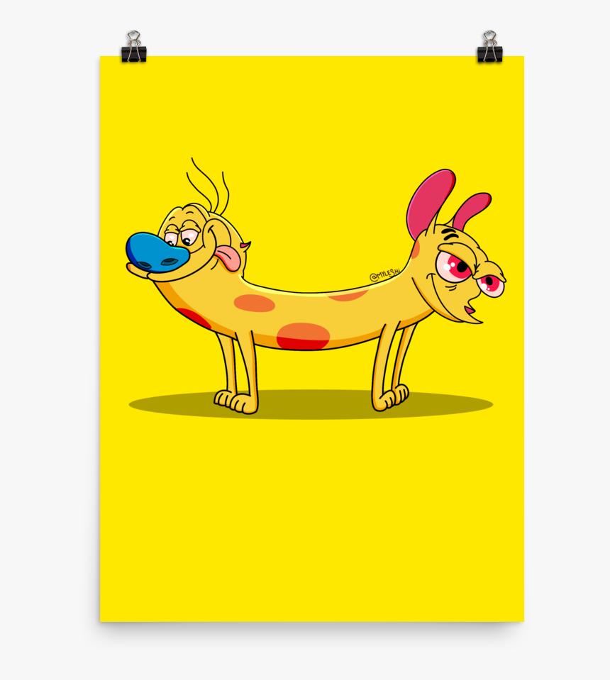 """ren Stimpy - Cartoon, HD Png Download, Free Download"