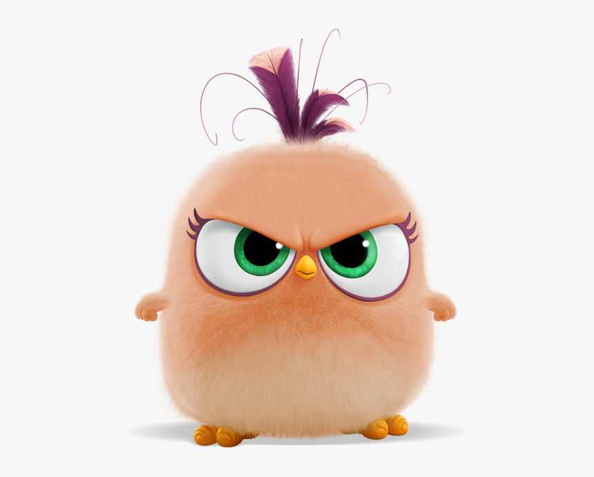 Angry Bird Hatchling Cute Hd Png Download Kindpng
