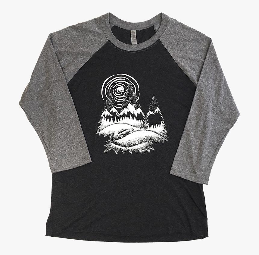 Baseball Tee - Long-sleeved T-shirt, HD Png Download, Free Download