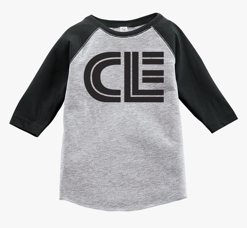Image Of Cle Toddler Baseball Tee, HD Png Download, Free Download